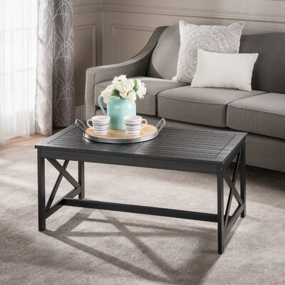 Manorhaven Coffee Table Color: Black