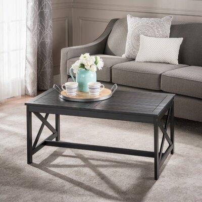 Manorhaven Coffee Table Color: Black