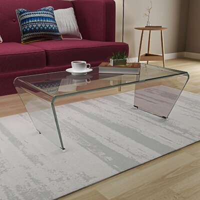 Huskins Glass Coffee Table