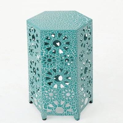 Crepeau End Table Color: Teal