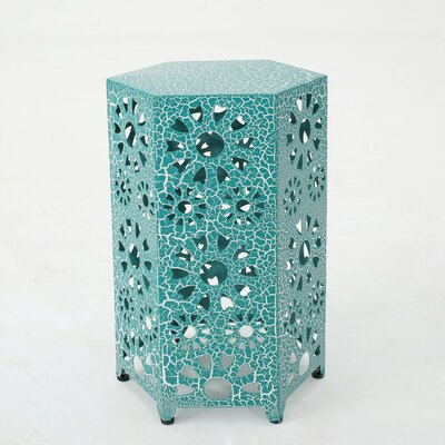 Crepeau 2 Piece End Table Color: Teal