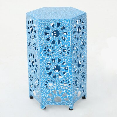 Crepeau End Table Color: Blue