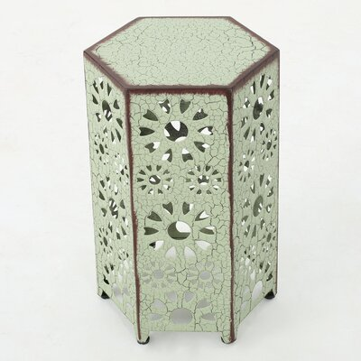 Crepeau End Table Color: Green