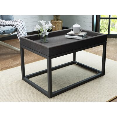 Fenske Framed Coffee Table Color: Gray