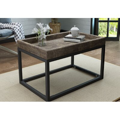 Fenske Framed Coffee Table Color: Rustic