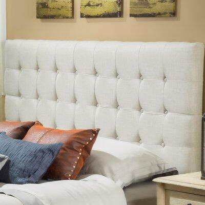 Preakness Upholstered Panel Headboard Upholstery: Eggshell