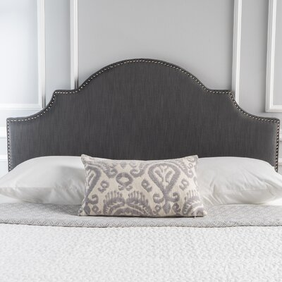 Corbett Upholstered Panel Headboard Upholstery: Grey, Size: Twin
