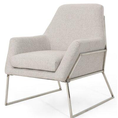 Sankey Modern Armchair Upholstery: Beige