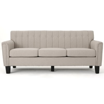 Mulholland Traditional Sofa Upholstery: Wheat