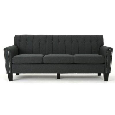 Mulholland Traditional Sofa Upholstery: Dark Gray