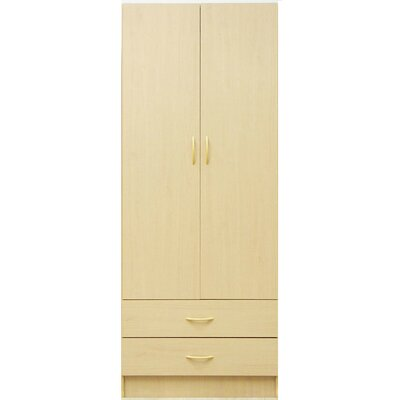 Wardrobe with Two Doors in Maple