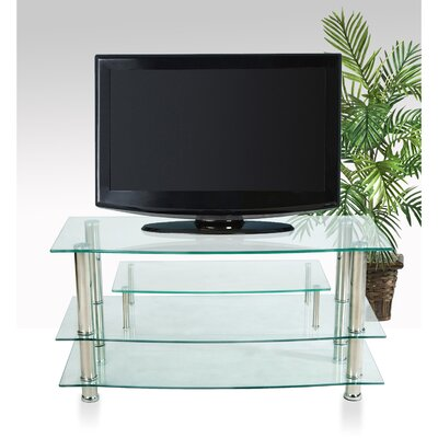 41 TV Stand Color: Chrome