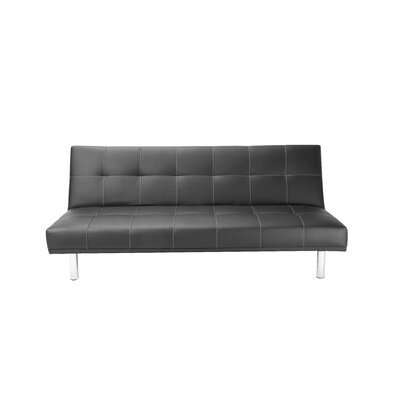 10948 HMC1718 Hazelwood Home Click Clack Convertible Sofa