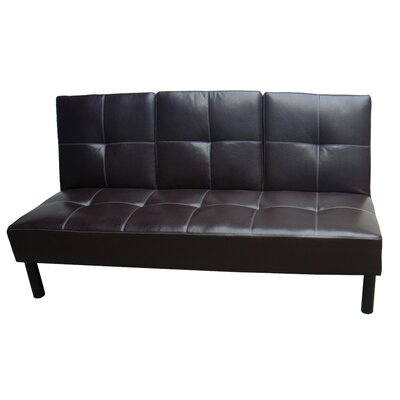 12393 HMC1729 Hazelwood Home Click Clack Convertible Sofa