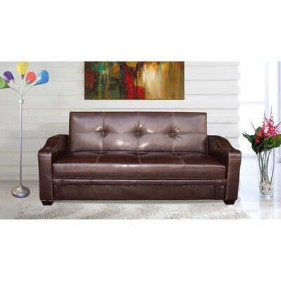 Functional Sleeper Sofa Color: Brown