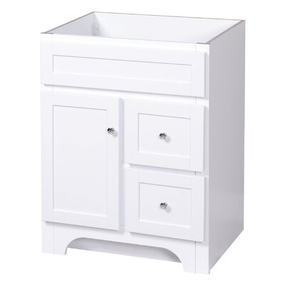 Worthington Bathroom Vanity Base Base Finish: White