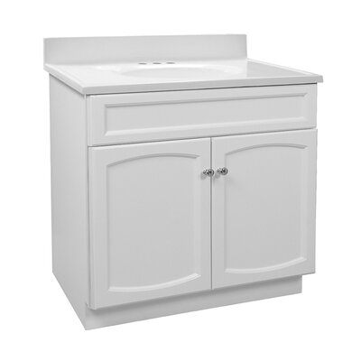 Heartland 31 Single Bathroom Vanity Set Base Finish: Premium White