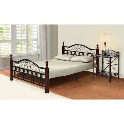 Platform Bed Size: Full, Finish: Hammerton Bronze