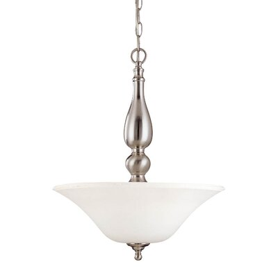 Dupont 3-Light Inverted Pendant Energy Star: No