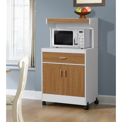 Raubsville Microwave Cart Base Finish: Brown