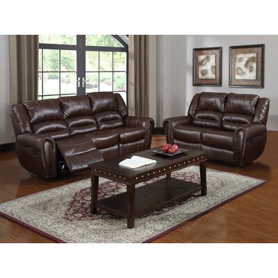 U-13600-S BROWN Hazelwood Home Living Room Sets