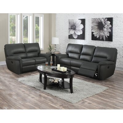 Judlaph Solid 2 Piece Living Room Set
