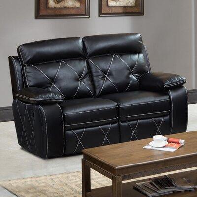 HAZE1772 32236684 Hazelwood Home Black Sofas