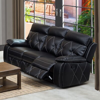 HAZE1773 32236686 Hazelwood Home Black Sofas