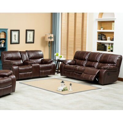 U-14000-S BROWN Hazelwood Home Living Room Sets
