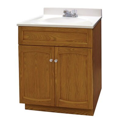 Howe 25 Pro Pack Vanity Set Base Finish: Genuine Oak