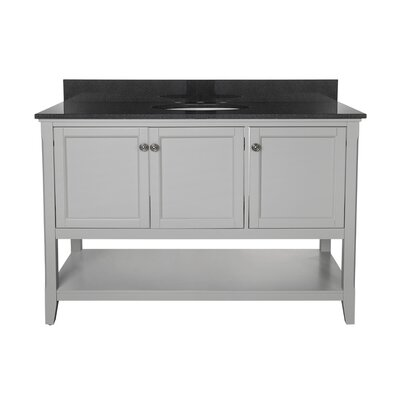 Summit 48 Bathroom Vanity Base Base Finish: Gray