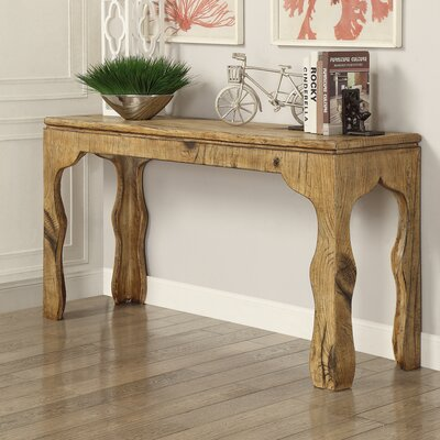 Maple Console Table and Side Tables