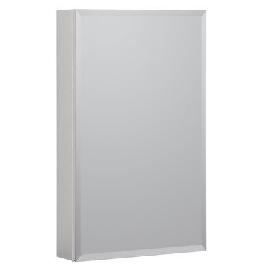 19 x 30 Recessed or Surface Mount Medicine Cabinet Finish: Satin