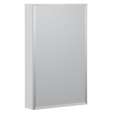 23 x 30 Recessed or Surface Mount Medicine Cabinet Finish: White