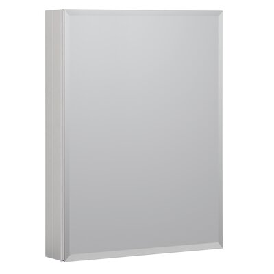 23 x 30 Recessed or Surface Mount Medicine Cabinet Finish: Brushed Nickel