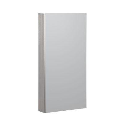 15 x 36 Recessed or Surface Mount Medicine Cabinet Finish: Brushed Nickel