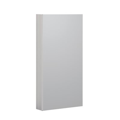 15 x 36 Recessed or Surface Mount Medicine Cabinet Finish: Satin