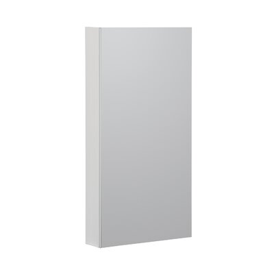 15 x 36 Recessed or Surface Mount Medicine Cabinet Finish: White