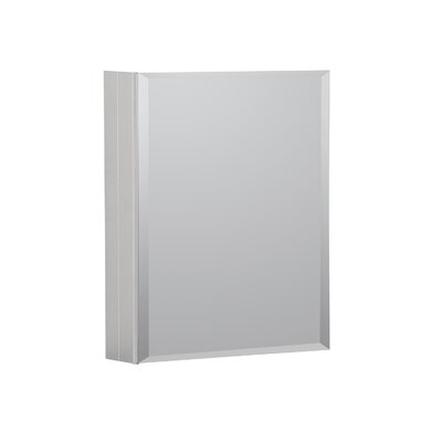 16 x 20 Recessed or Surface Mount Medicine Cabinet Finish: Satin
