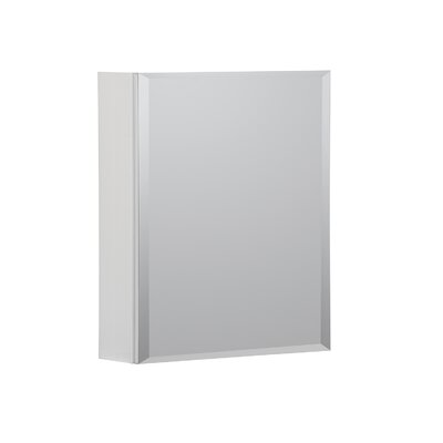 16 x 20 Recessed or Surface Mount Medicine Cabinet Finish: White