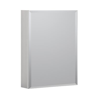 20 x 26 Recessed or Surface Mount Medicine Cabinet Finish: Satin
