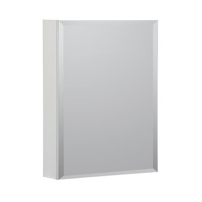 20 x 26 Recessed or Surface Mount Medicine Cabinet Finish: White