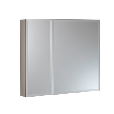30 x 26 Surface Mount and Recessed Medicine Cabinet Finish: Satin