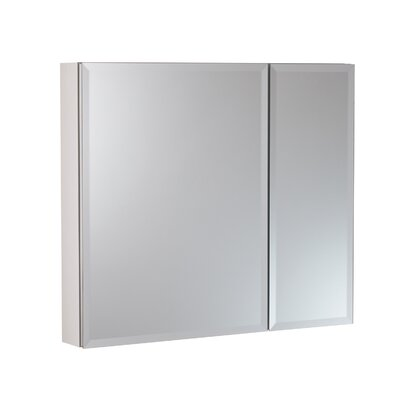 30 x 26 Surface Mount and Recessed Medicine Cabinet Finish: White