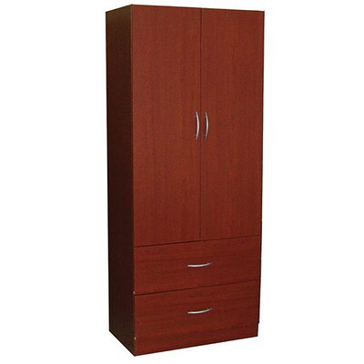 72 x 28 Wardrobe with Two Door in Mahogany