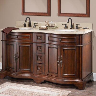 Harold 61 Double Bathroom Vanity Set