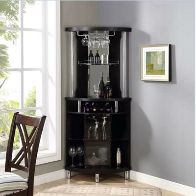 Reinhold Wine Bar with Wine Storage