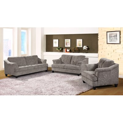 Yellowhammer 3 Piece Living Room Set Uphostery: Beige