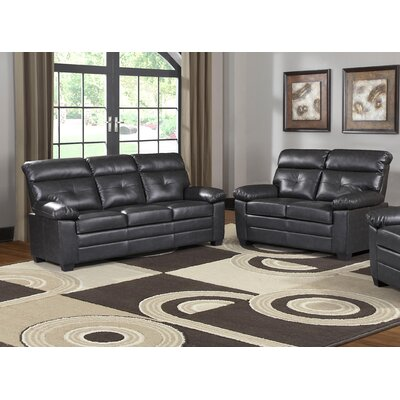 Blomquist 2 Piece Solid Living Room Set
