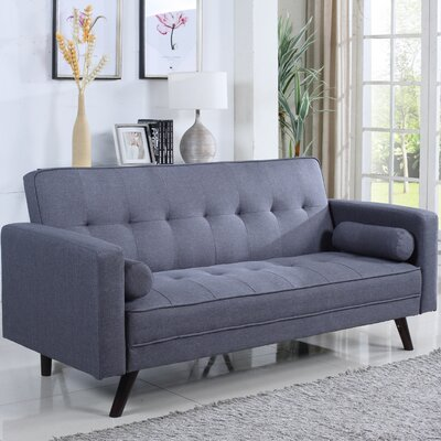 Santa Clara Sleeper Sofa Upholstery: Gray
